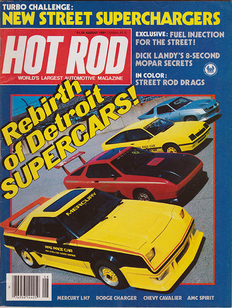 August 1981 Hot Rod Magazine - Nitroactive.net