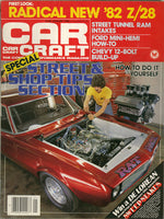 January 1982 Car Craft Magazine - Nitroactive.net
