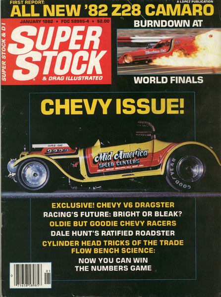 Super Stock & Drag Illustrated January 1982 - Nitroactive.net
