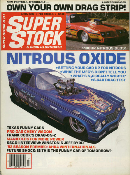 Super Stock & Drag Illustrated April 1982 - Nitroactive.net