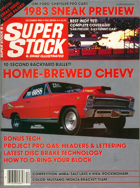 Super Stock & Drag Illustrated December 1982 - Nitroactive.net
