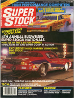 Super Stock & Drag Illustrated October 1985 - Nitroactive.net