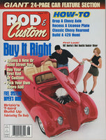 August 1997 Rod & Custom Magazine Cover