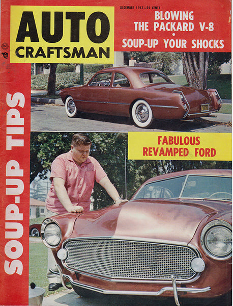 December 1947 Auto Craftsman magazine Cover View