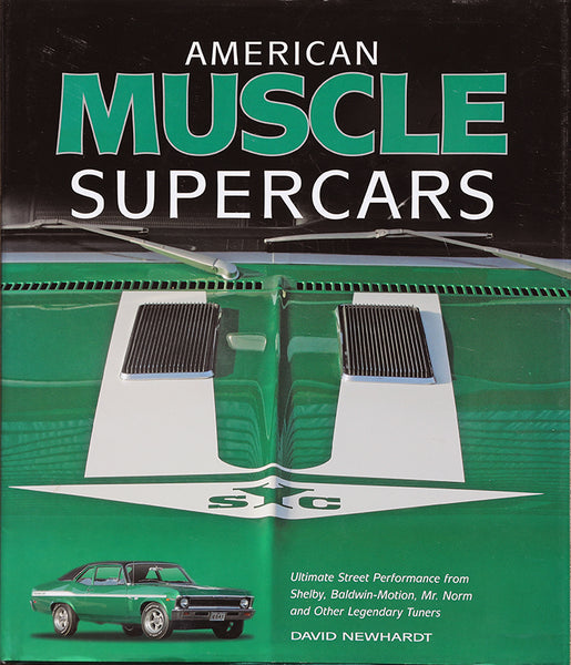 American Muscle Supercars Hardcover Book