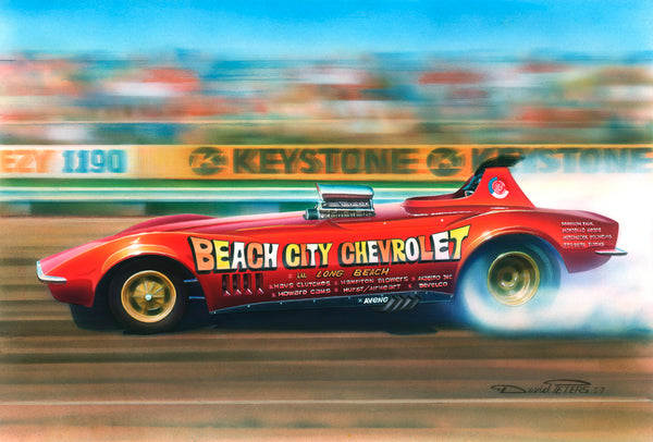 Beach City Chevrolet Corvette Funny Car - Nitroactive.net