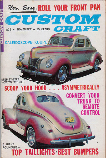 November 1962 Custom Craft Magazine - Nitroactive.net