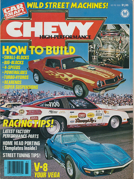 Chevy High Performance – By the Editors of Car Craft Magazine 1977