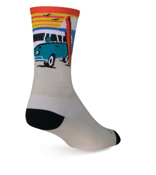 The Sock Guy Daze Socks VW Van