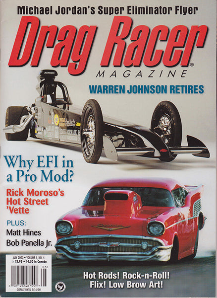 May 2000 Drag Racer Magazine