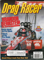 July 2001 Drag Racer Magazine Cover Kenny Bernstein Top Fuel Dragster