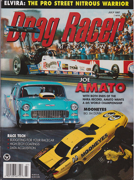 July 1997 Drag Racer Magazine Cover