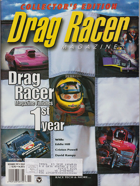 November 1997 Drag Racer Magazine Cover