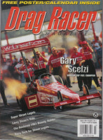 March 1998 Drag Racer Magazine Cover View Gary Scelzi Dragster