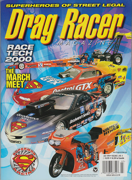 July 1999 Drag Racer Magazine