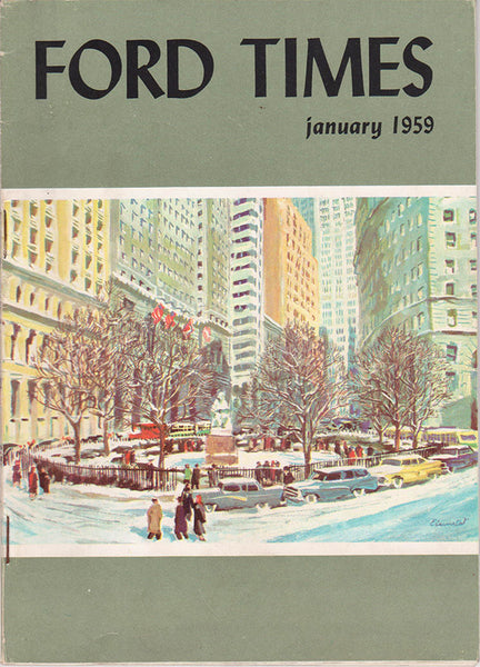 January 1959 Ford Times Magazine - Nitroactive.net