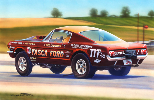 Bill Lawton Tasca Ford A/FX Mustang - Nitroactive.net
