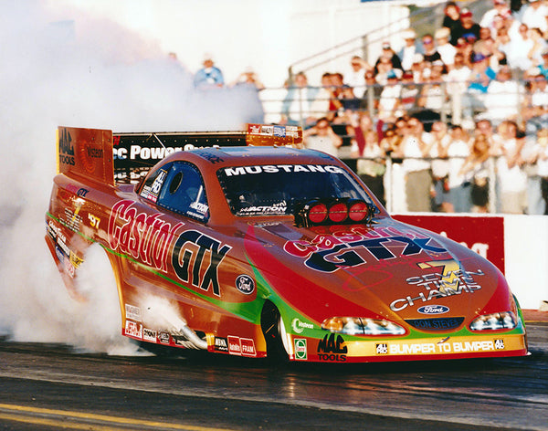 John Force 7-Time Champ Funny Car 8x10 Color Photo