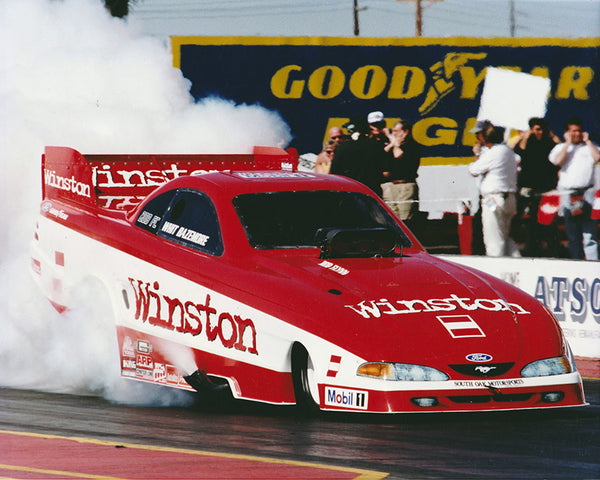 Whit Bazemore 1997 Winston Mustang Funny Car 8x10 Color Photo