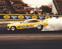 Pisano & Matsubara Vega Funny Car 8x10 Color Photo