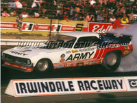 Don Prudhomme Army Funny Car Burnout - Nitroactive.net