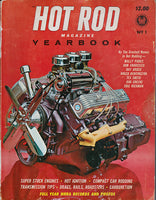 Hot Rod Magazine Yearbook No. 1 1961 Cover Engine