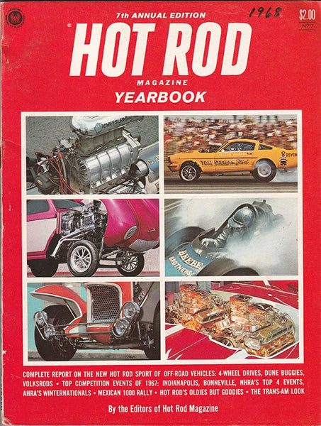 Hot Rod Magazine Yearbook No. 7 Cover