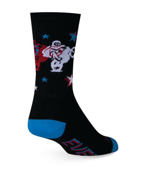 Sock Guy Legend Evil Knievel Acrylic Crew Socks