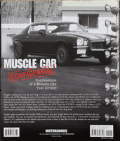 Muscle Car Confidential – Confessions of a Muscle Car Test Driver Back Cover View 1970 Camaro