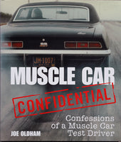 Muscle Car Confidential – Confessions of a Muscle Car Test Driver Front Cover View 1969 Camaro