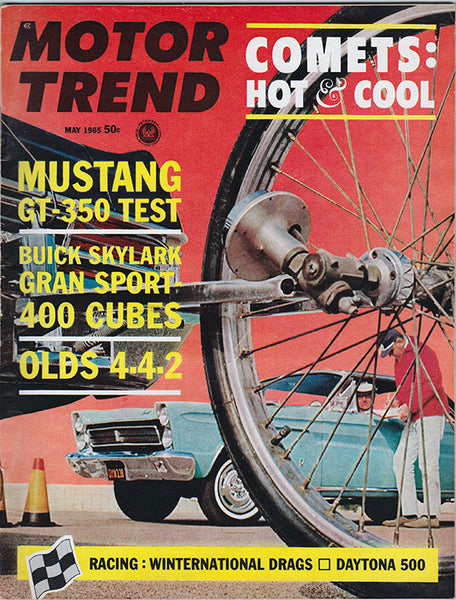 May 1965 Motor Trend Magazine - Nitroactive.net