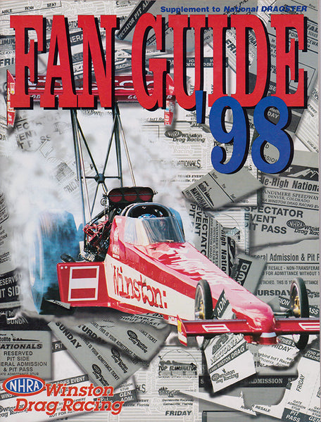 1998 NHRA Drag Racing Fan Guide - Nitroactive.net