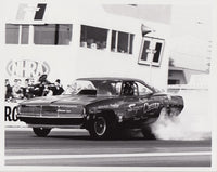Don Beebe Super Chief Charger Funny Car 8x10 Black and White Photo