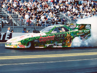 John Force Grinch Funny Car 8x10 Color Photo