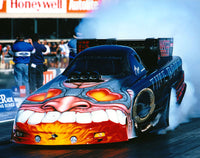 Scotty Cannon Oakley Time Bomb Pontiac Funny Car 8x10 Color Photo