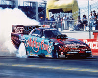 Jim Epler Motley Crue Camaro Funny Car Burnout 8xz10 Color Photo