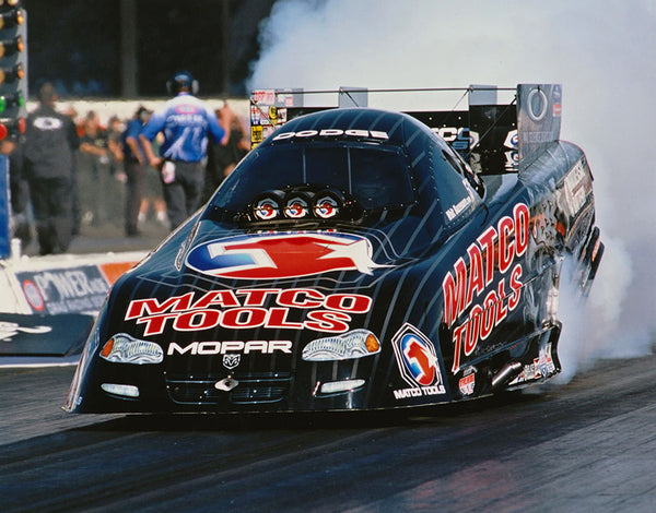 Whit Bazemore 2003 Matco Tools Dodge Funny Car 8 x 10 Color Photo