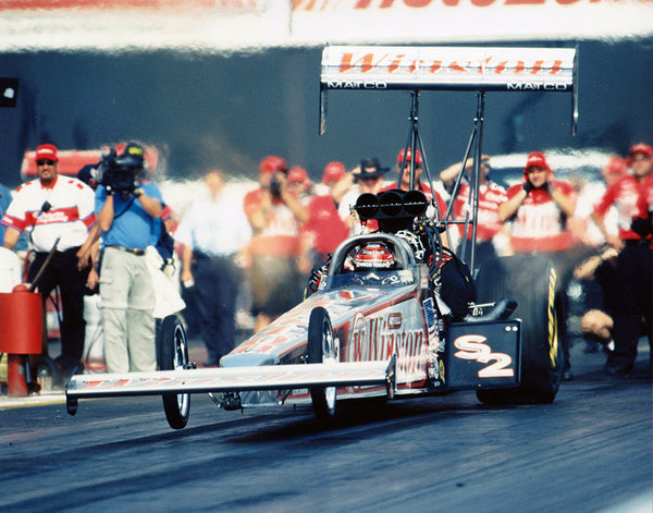 Gary Scelzi Winston Top Fuel Dragster 2001 8x10 Color Photo