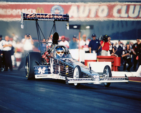 Mike Dunn Yankees Top Fuel Dragster 8x10 Color Photo