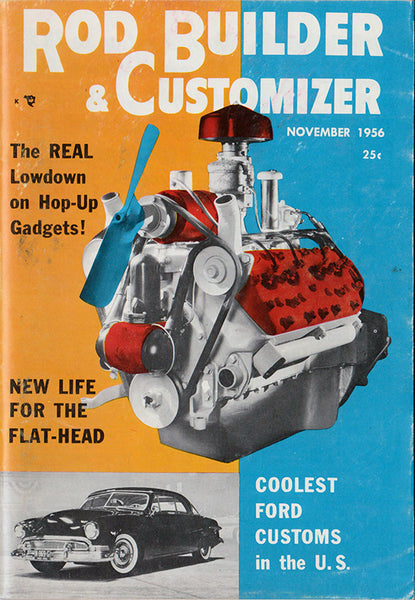 November 1956 Rod Builder & Customizer - Nitroactive.net