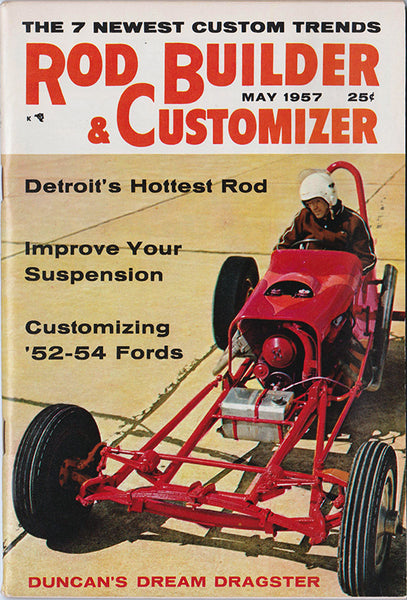 May 1957 Rod Builder & Customizer - Nitroactive.net