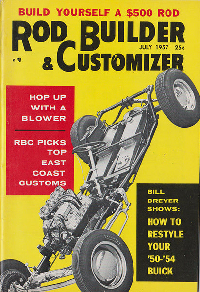 July 1957 Rod Builder & Customizer - Nitroactive.net