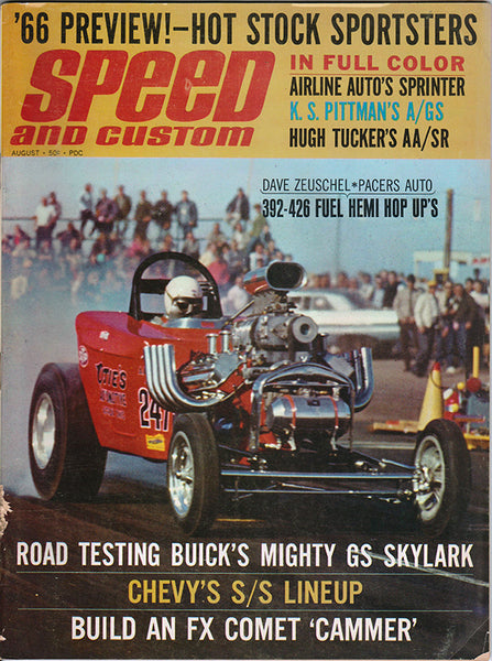August 1965 Speed and Custom Magazine - Nitroactive.net
