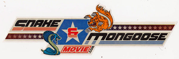 Snake and Mongoose Movie Promotional Sticker 2013