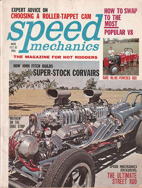 October 1962 Speed Mechanics Magazine - Nitroactive.net