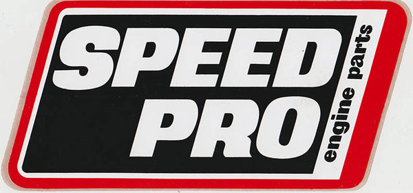 Original Vintage Speed Pro Engine Parts Sticker 1980's - Nitroactive.net