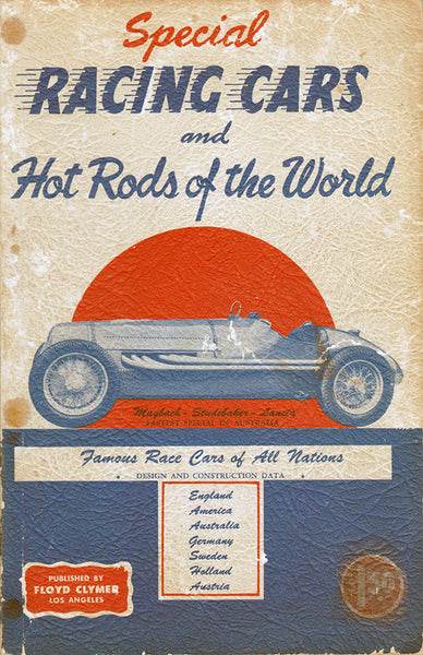 Special Racing Cars and Hot Rods of the World 1950 - Nitroactive.net