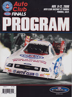 NHRA 2006 World Finals Program - Nitroactive.net