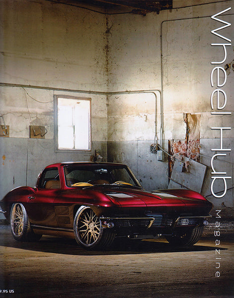 Wheel Hub Summer 2018 Volume 1 Issue 3 - Corvette Cover - Nitroactive.net