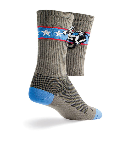 Sock Guy Wheelie Acrylic Crew Socks